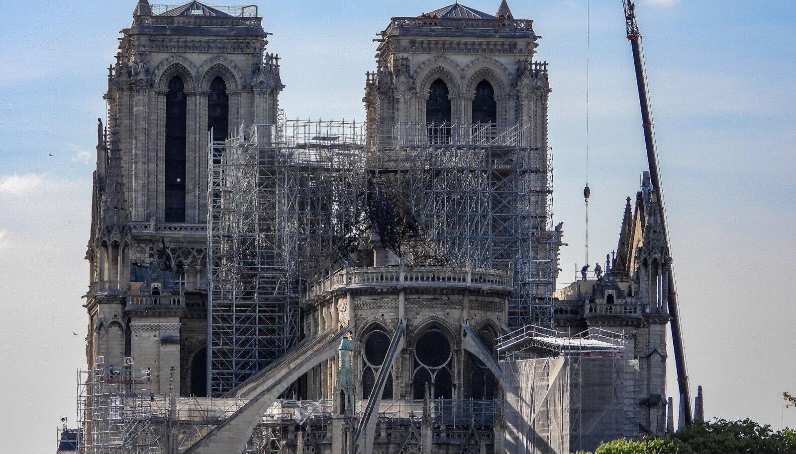 Notre Dame pärast põlengut