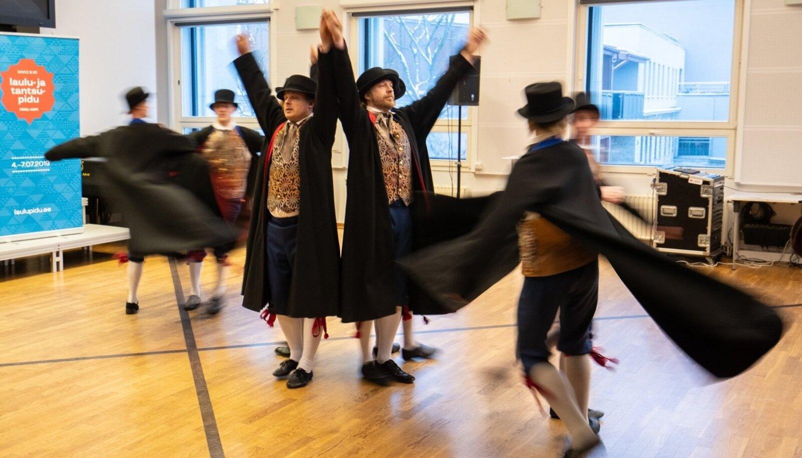 Laulu- ja tantsupeo pressikonverents