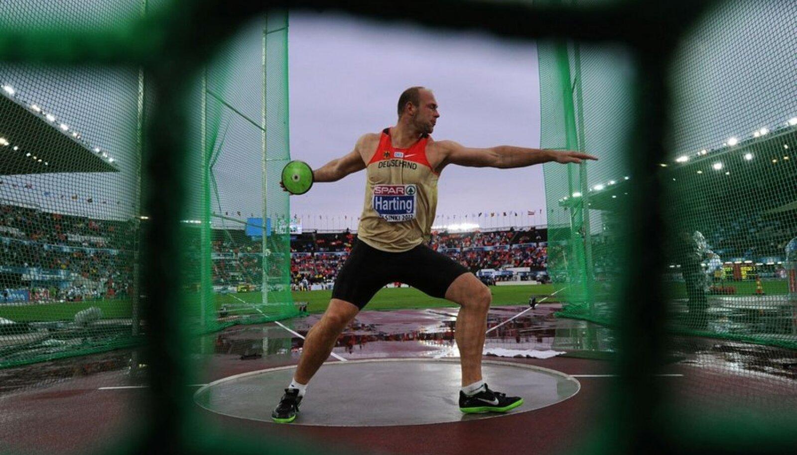 Robert Harting: kas muredest painatud mees või spordimaailma peen intrigant? Foto: AFP/Scanpix