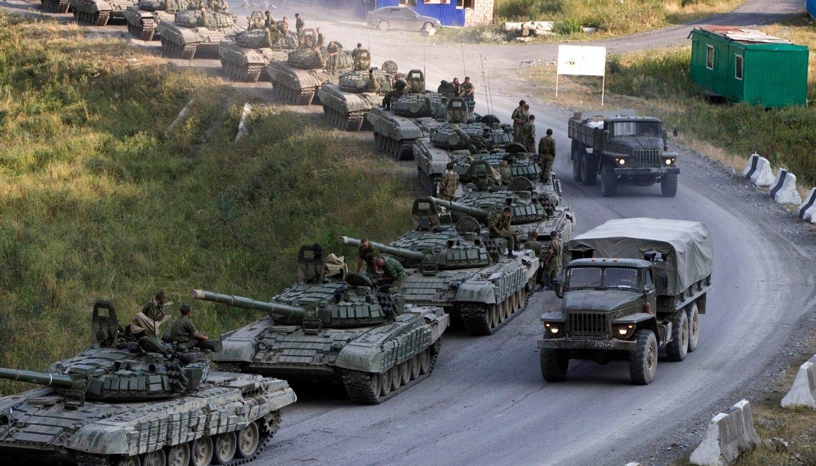 Vene-Gruusia sõda näitas, et nii tankidel kui ka suurtükiväel on tänapäeva sõjas oluline koht.
