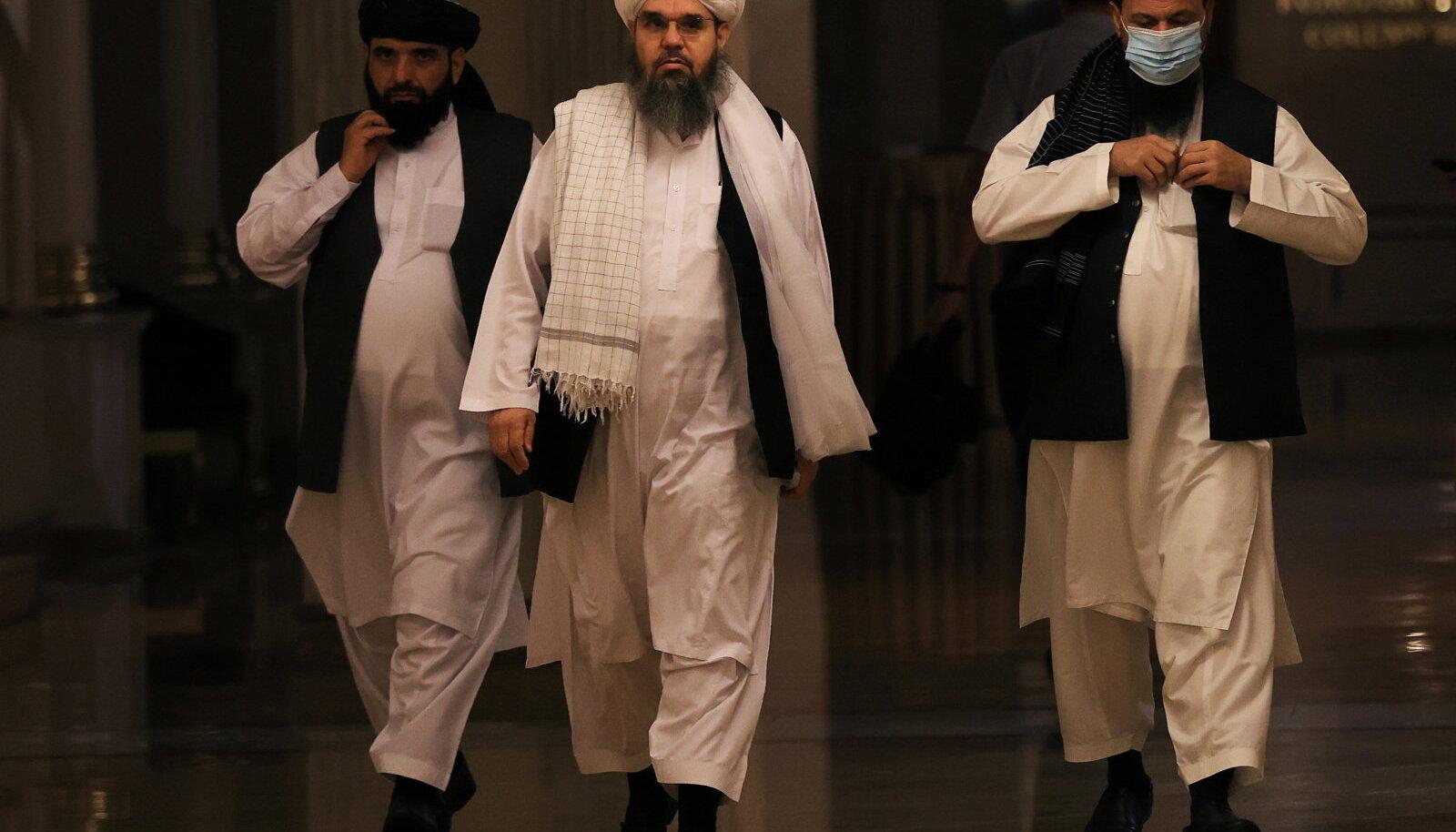 Talibani esindus eile Moskvas pressikonverentsil.