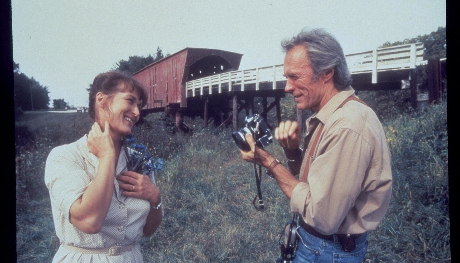 Samanimelises romantilises draamas kehastasid peategelasi Francescat ja Robertit Meryl Streep ja Clint Eastwood.