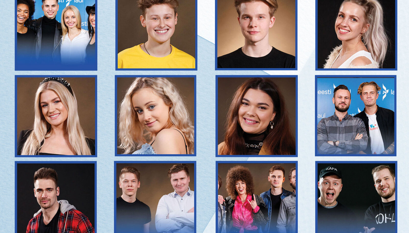 Eesti Laul 2020 II poolfinaali osalejad