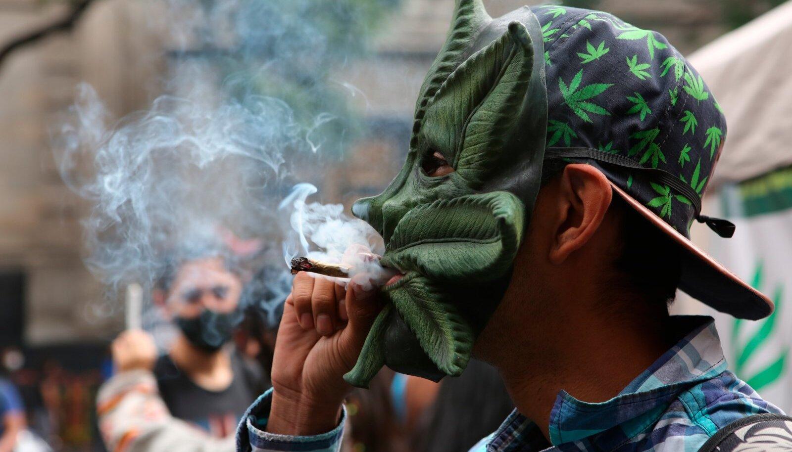 Kanepi legaliseerimise poolt on meeleavaldusi korraldatud üle maailma.