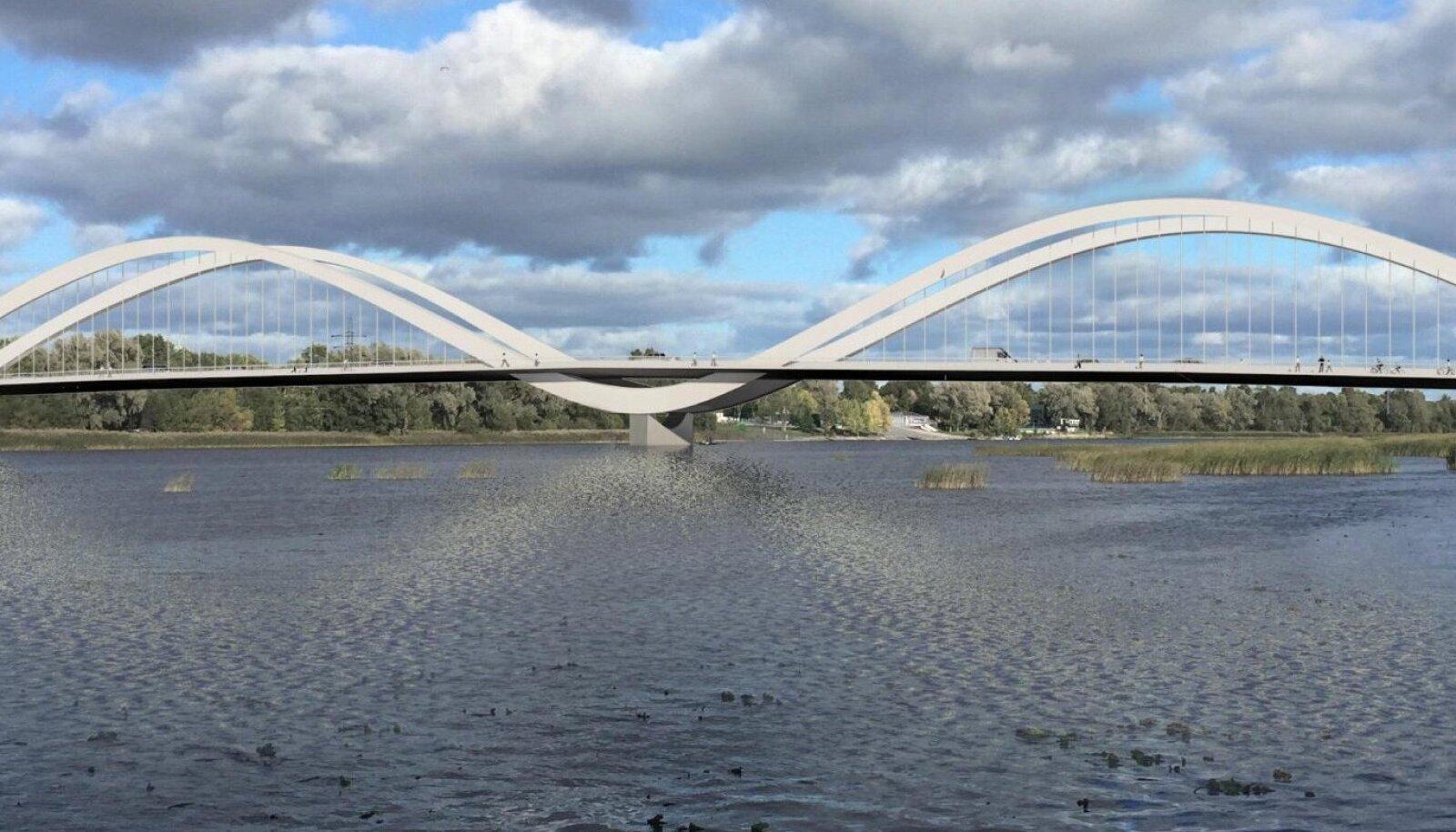 Raba-Lai tänavate silla mudel
