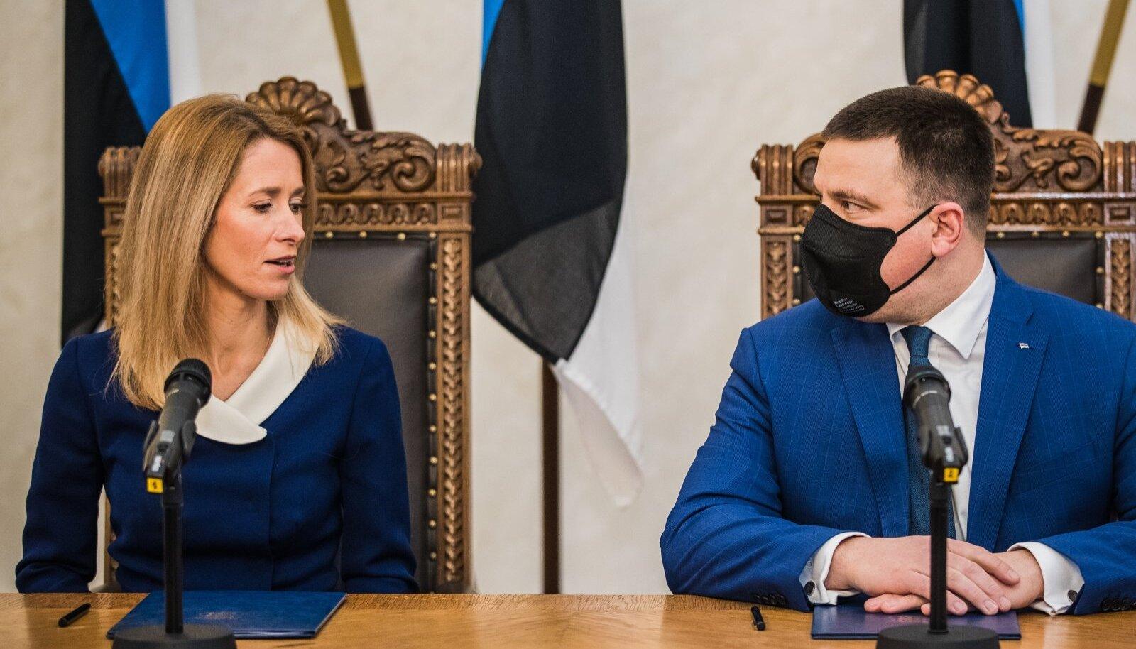 Lähikuud näitavad, kas peaministritoolile jõudmine aitab Kaja Kallasel ka küsitlustulemustes Jüri Ratasest mööduda.