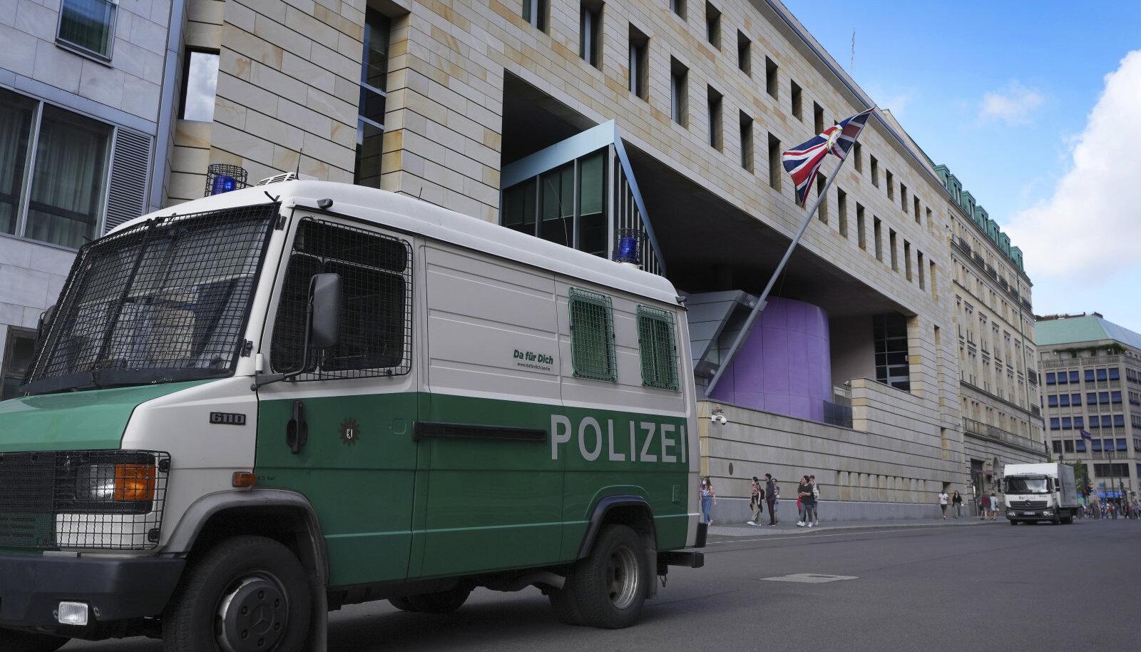 Suurbritannia saatkond Berliinis