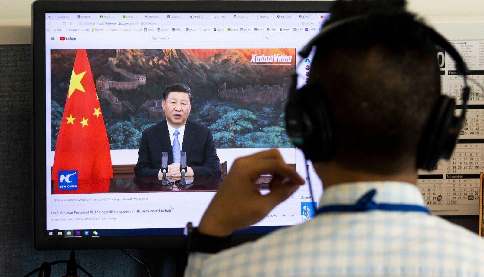 ÜRO kohtumine algas Trumpi ja Xi vastastikuste süüdistuste saatel - Eesti Päevaleht