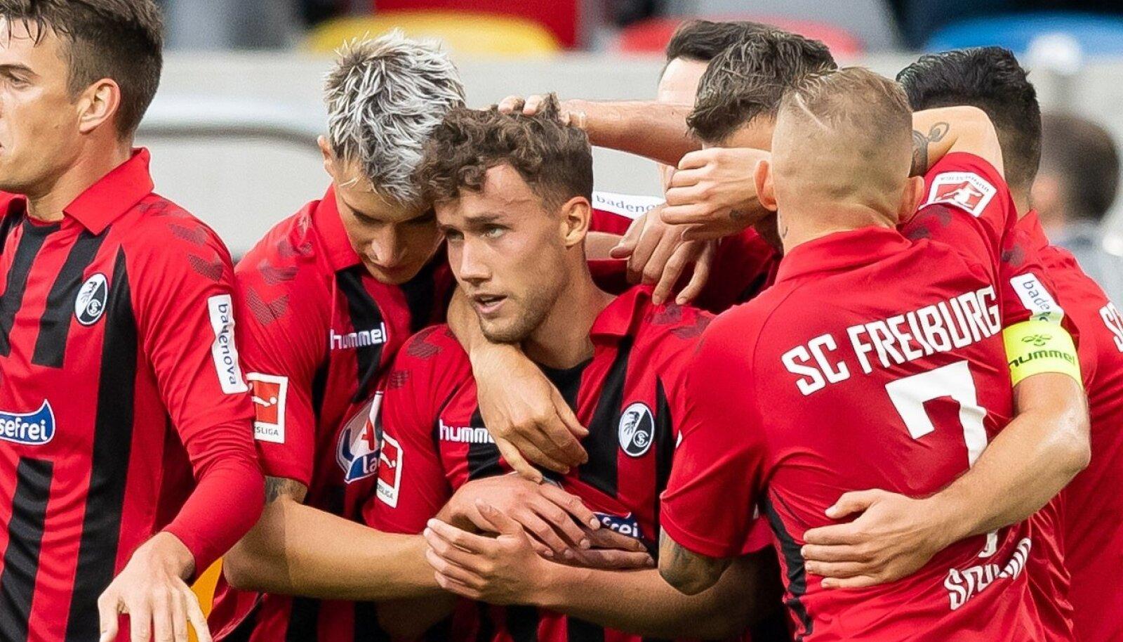 Duesseldorf, Germany 29.09.2019, 1. Bundesliga, 6. Spieltag, Fortuna Duesseldorf - SC Freiburg, Luca Waldschmidt (SCF)