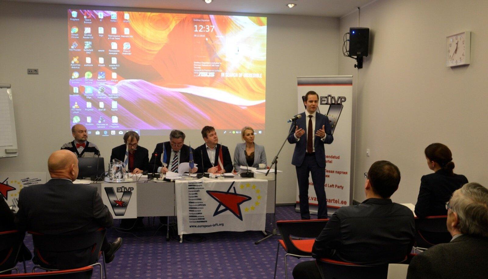 Eestimaa Ühendatud Vasakpartei kongress