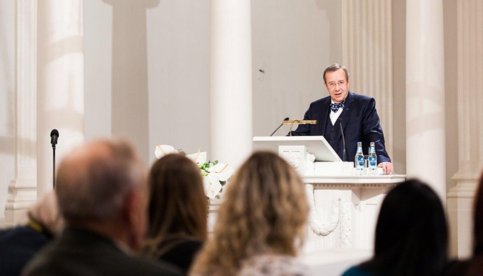 President Ilvese loeng Tartu Ülikoolis