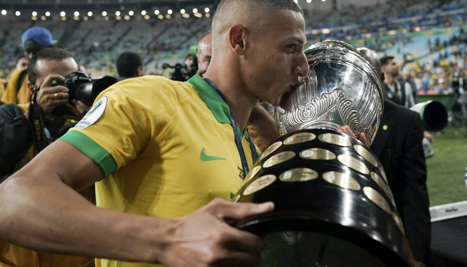 Richarlison Copa America karikaga.
