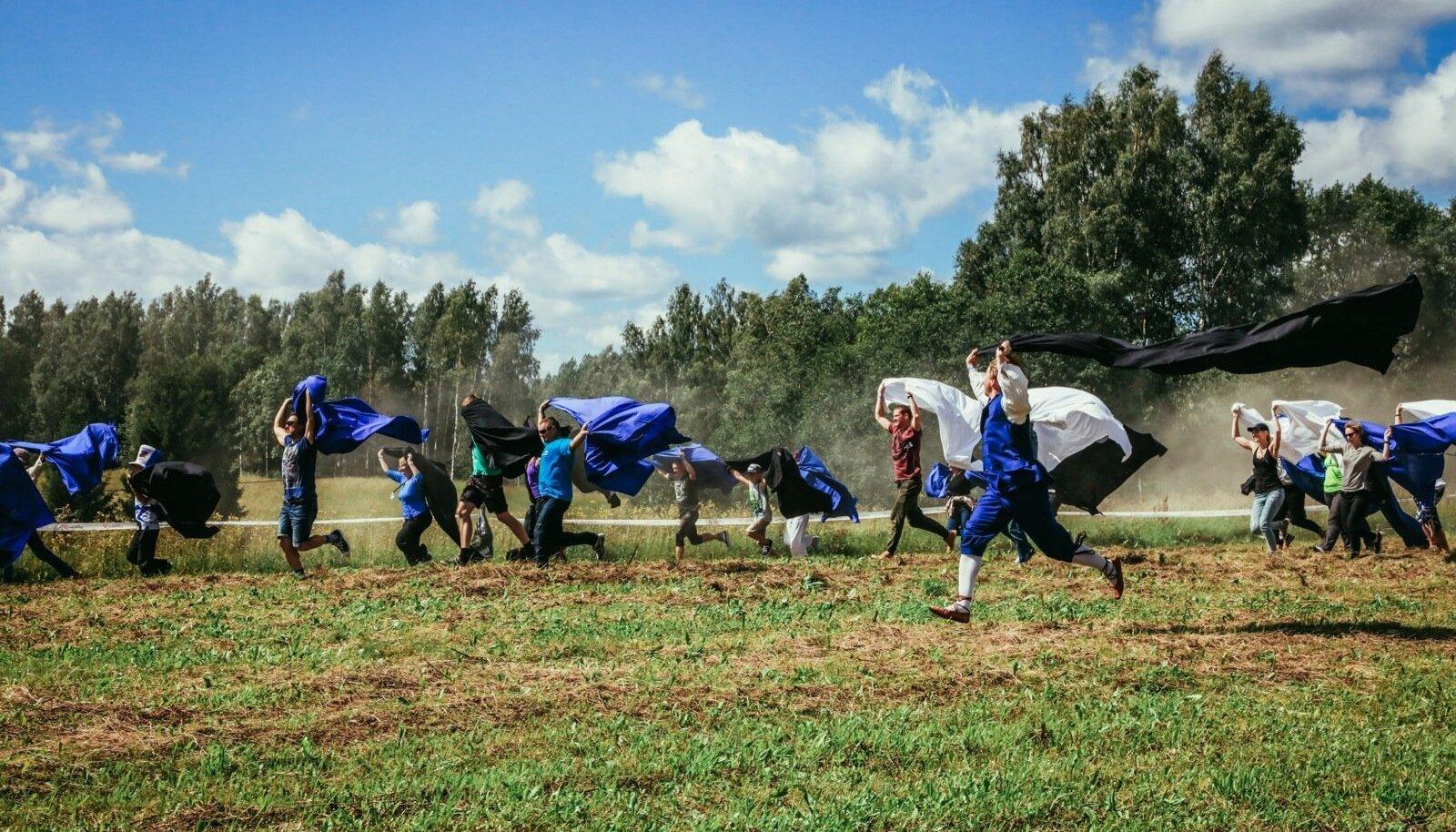 Tantsuaktsioon Rally Estonial