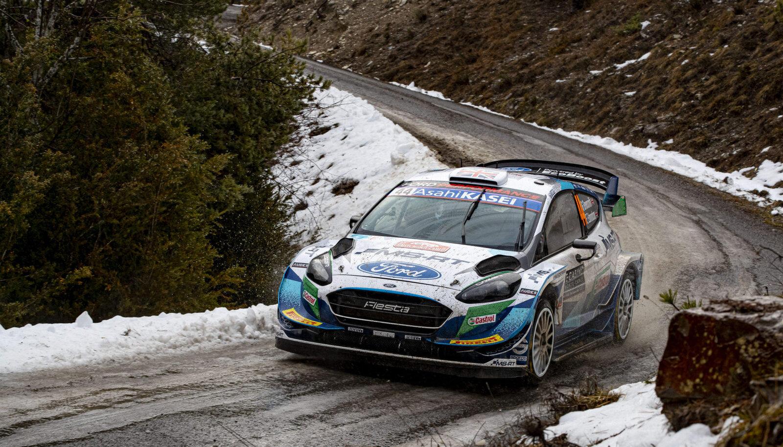 WRC. Pilt on illustratiivne.
