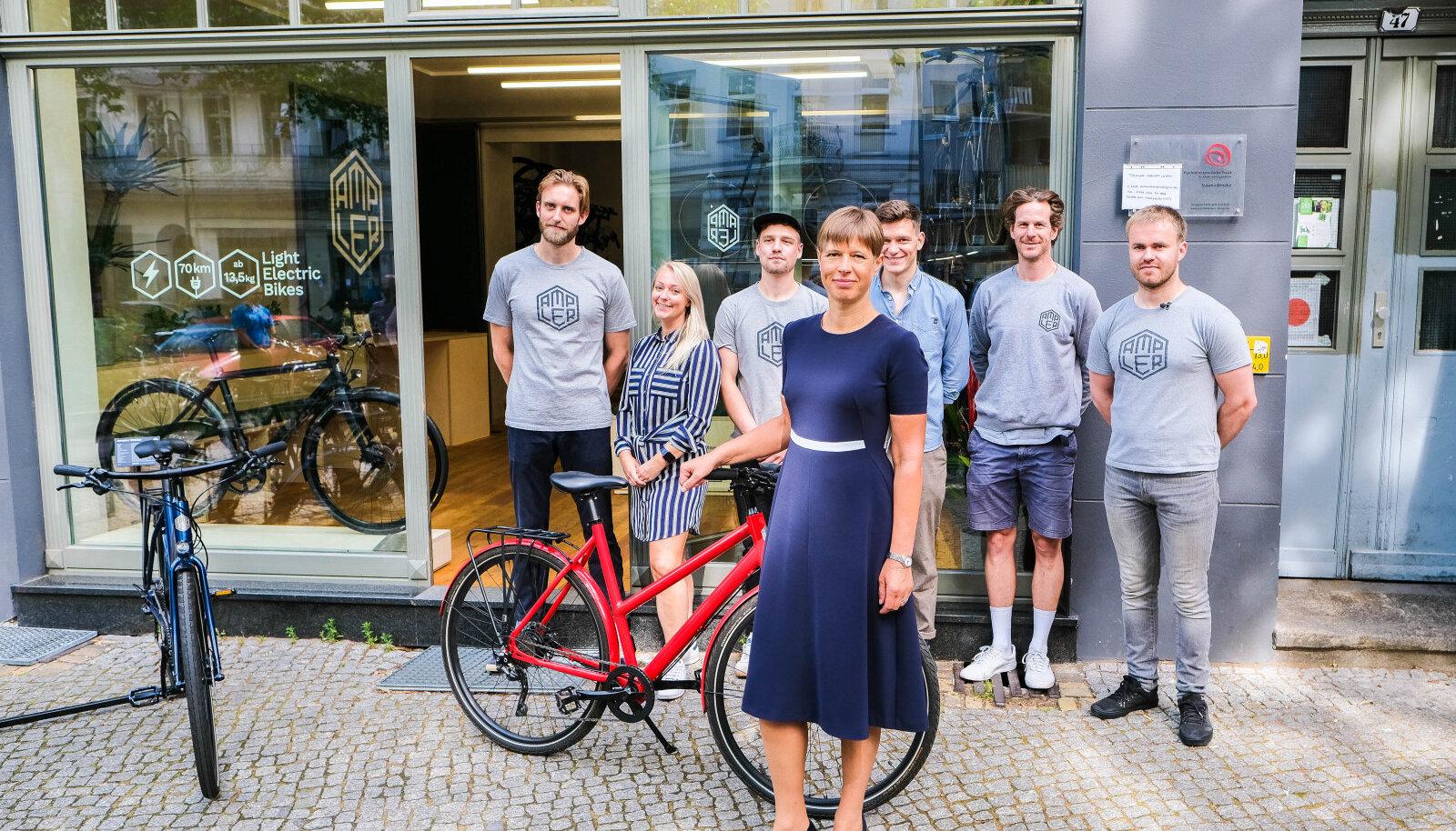 President Kersti Kaljulaid käis Ampleril Berliinis külas.