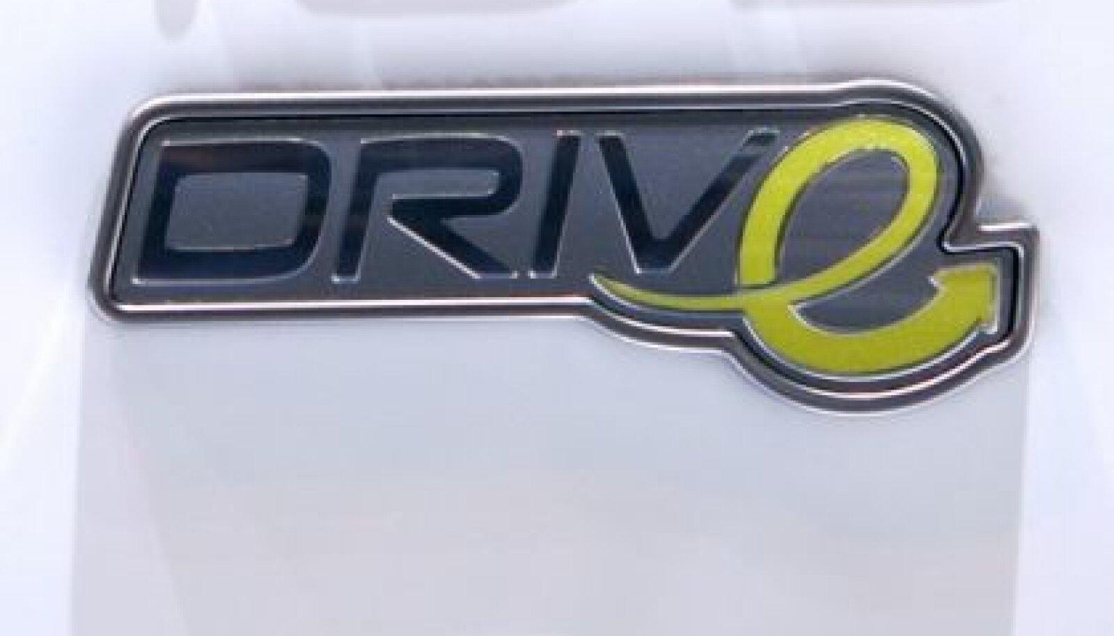 Volvo säästlike sõidukite seeria embleem. Foto Denis Balibouse, Reuters