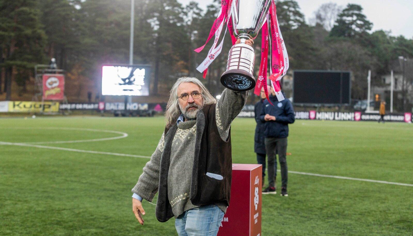 Eesti Jalgpalli Liidu president Aivar Pohlak.