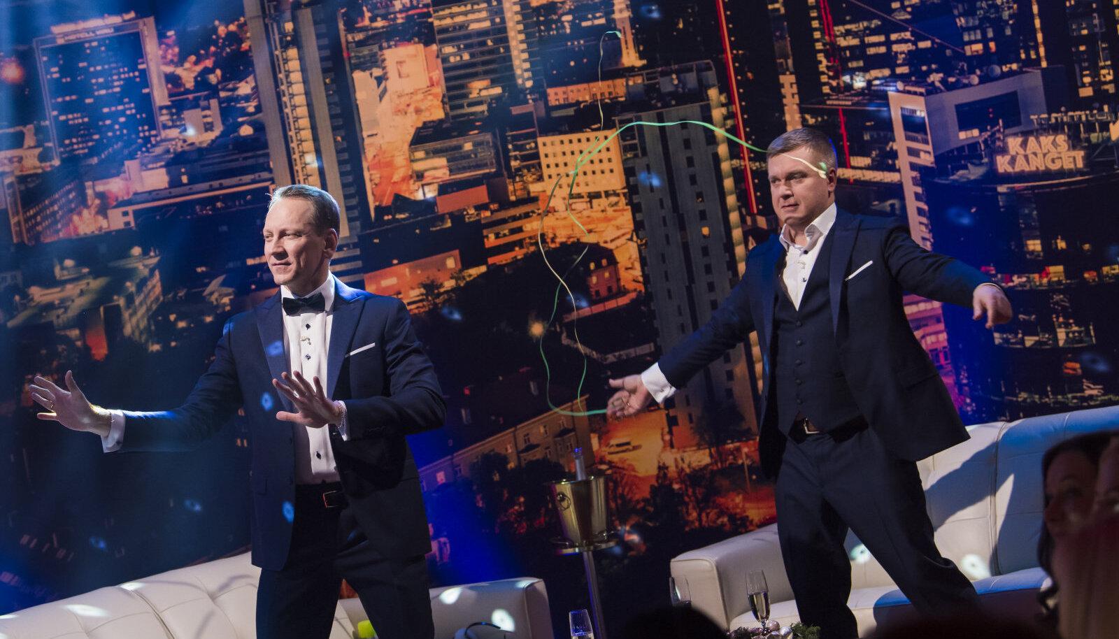 """""""Kaks kanget. Suur aastavahetusshow!"""""""