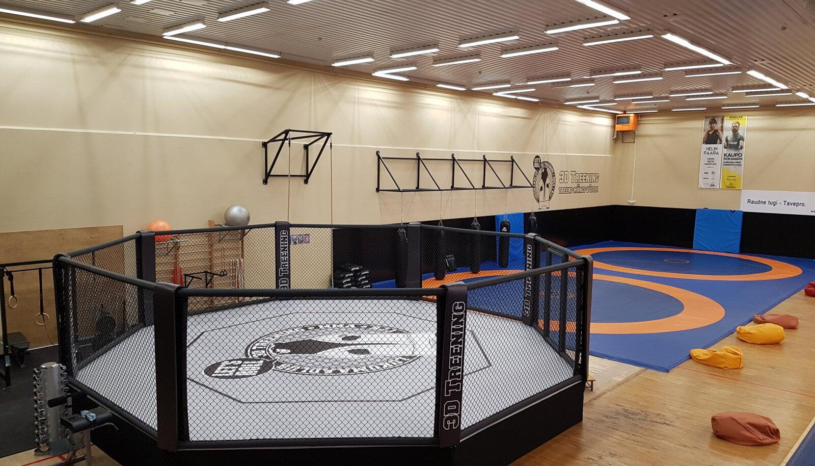 Eesti klubi sai endale MMA puuri