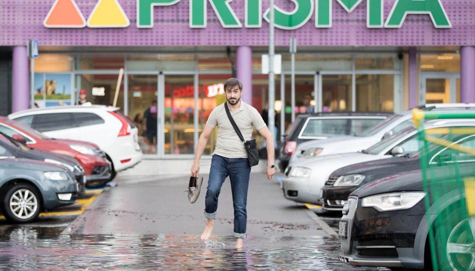 Tulevikus on linnades aina suurem üleujutuste oht, tänased sademevee kanalisatsiooni süsteemid jäävad suurte vihmahoogude korral vajaka.