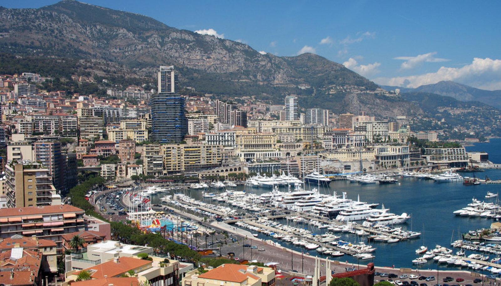 Monaco: jõukuse, aga ka maksuparadiisi sümbol.