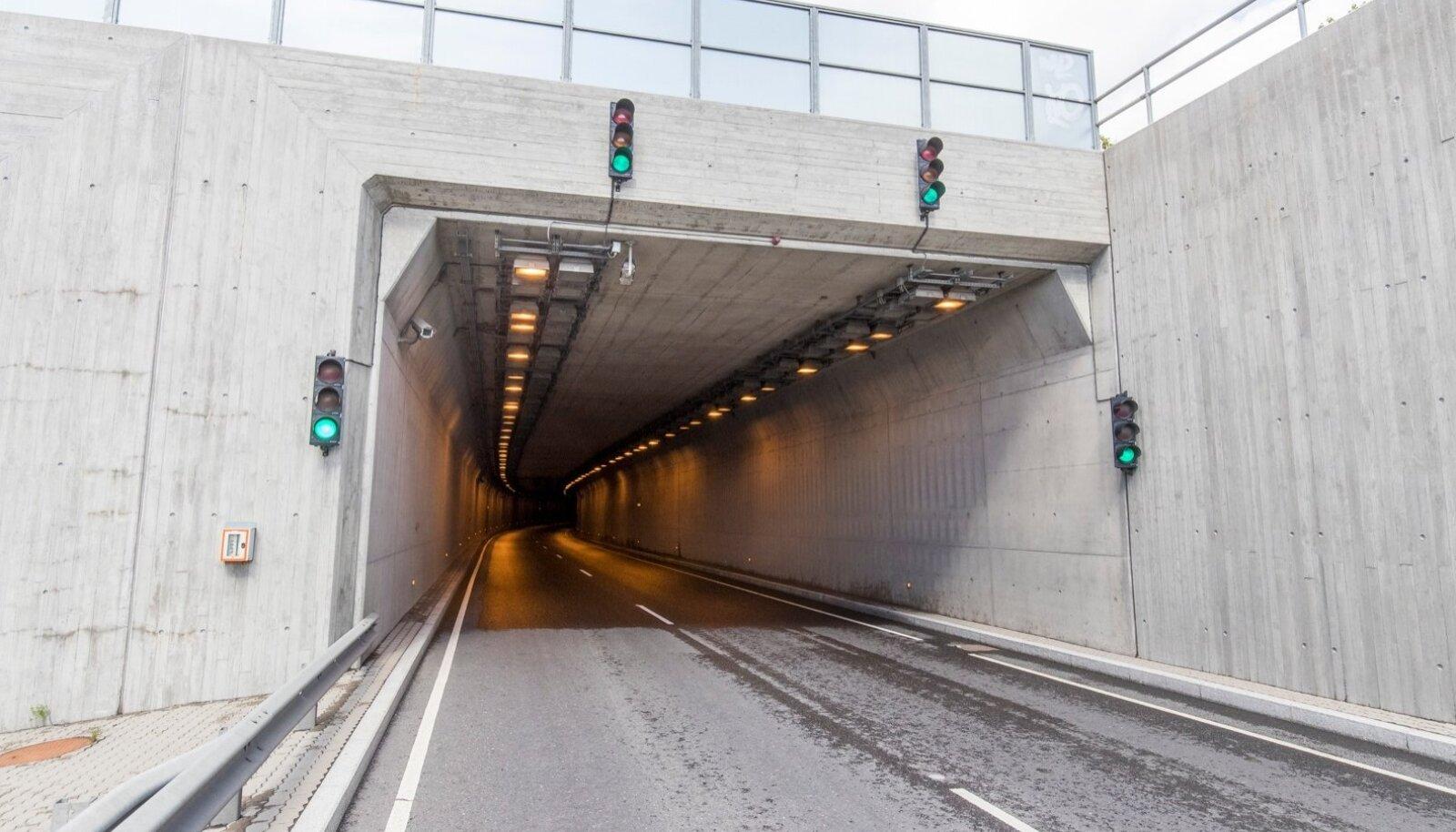 Roheline tuli suunab Ülemiste tunnelisse otse veevang