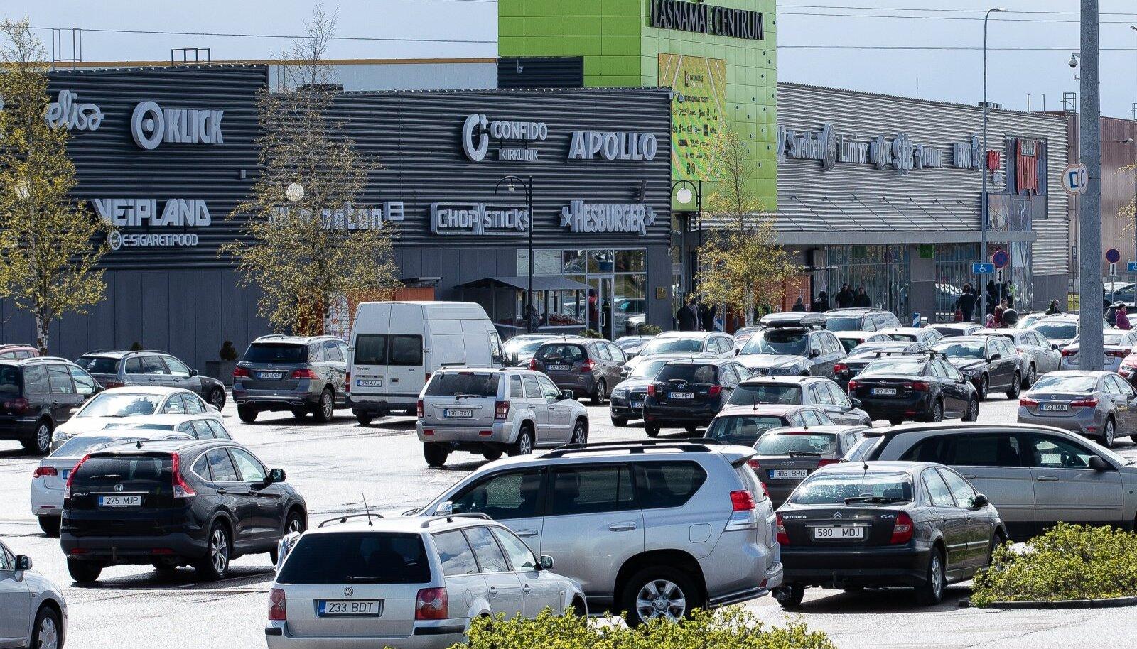 Kaubanduskeskuste parklad