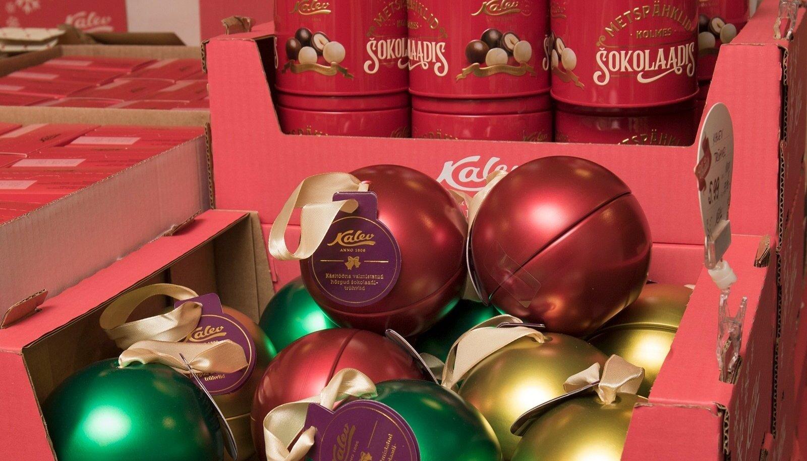 Pühade ajal võib - šokolaad ja jõulud on lahutamatud