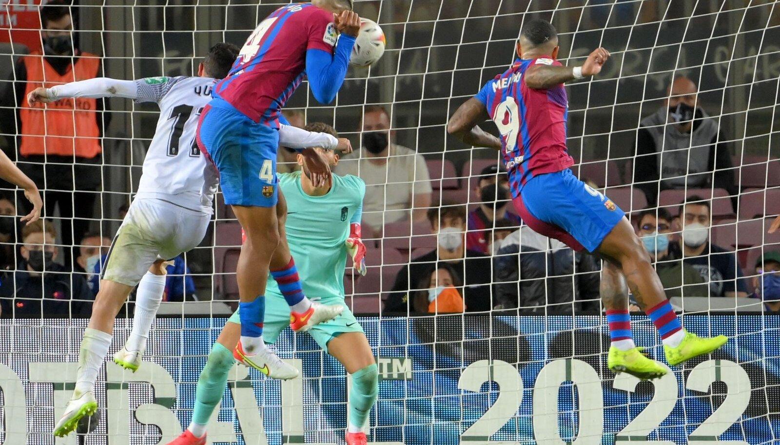 Ronald Araujo päästab Barcelonale viigipunkti