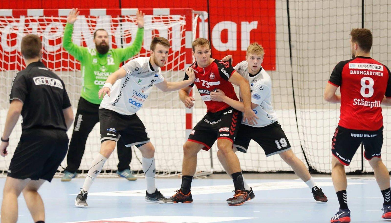 Mullu ei pääsenud Eesti meister Põlva Serviti eurosarja avaringist edasi, Šveitsi klubi BSV Bern oli napilt parem