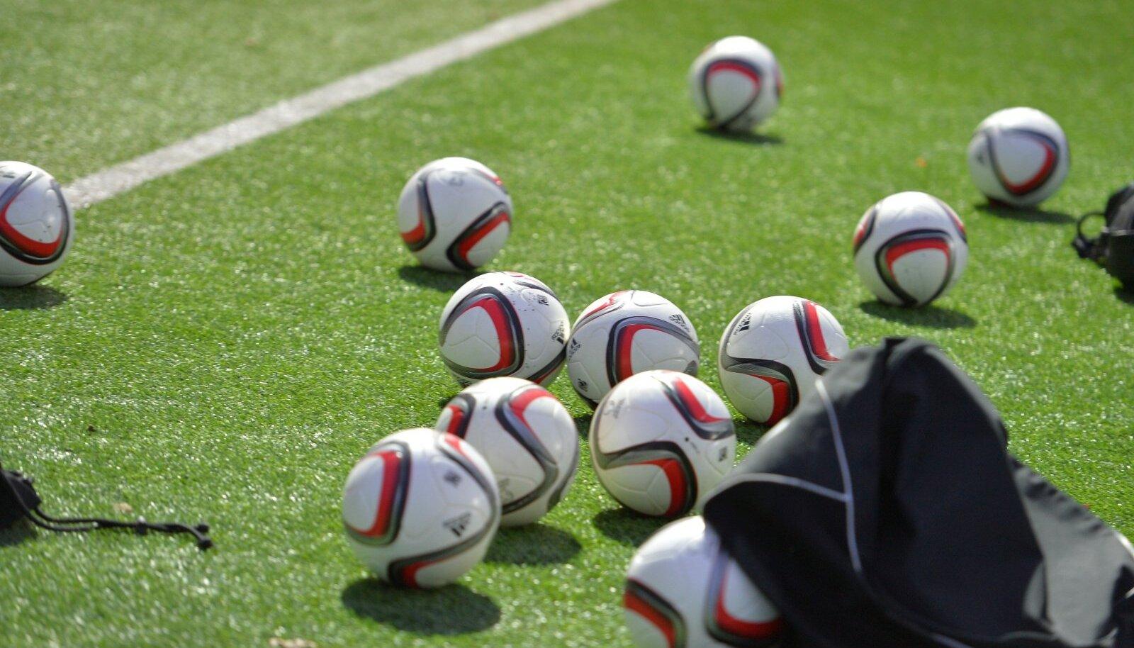 jalgpall, treeningn