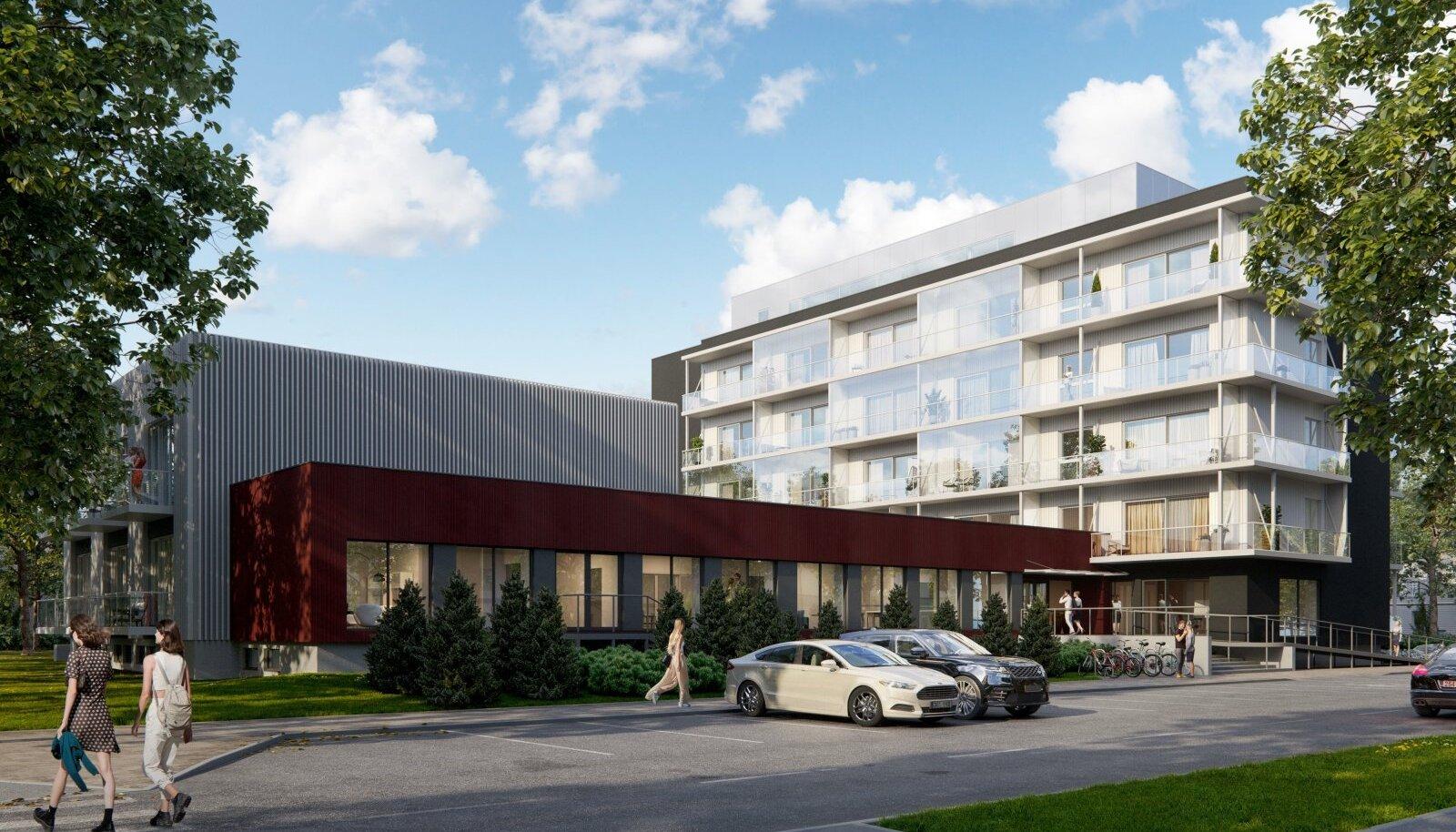 Pärnusse kerkib uus hotell.