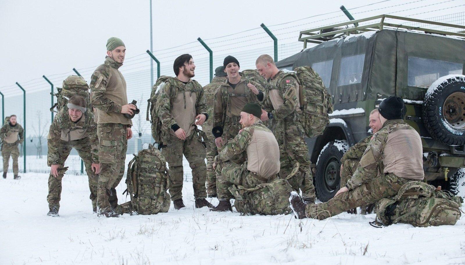 Eesti talveilm paneb proovile. Esimesele marsile ajasid kõik ohtralt riideid selga.