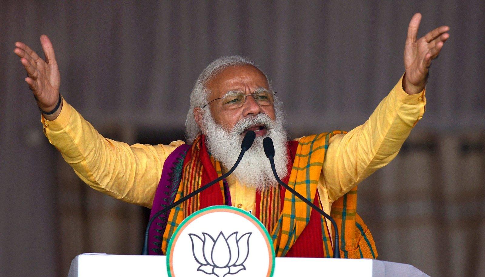 RAHVAMEES VAJUB: Viimase nakkuslaine eelgi oli Modil 75protsendine toetus. Kuid nüüd on tuuled pöördumas.
