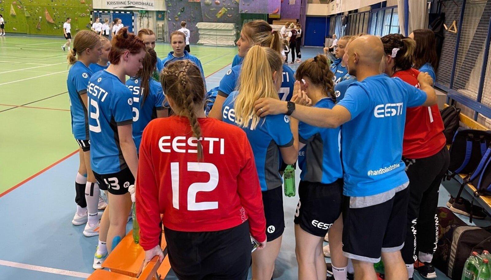 Eesti U17 käsipallineiud