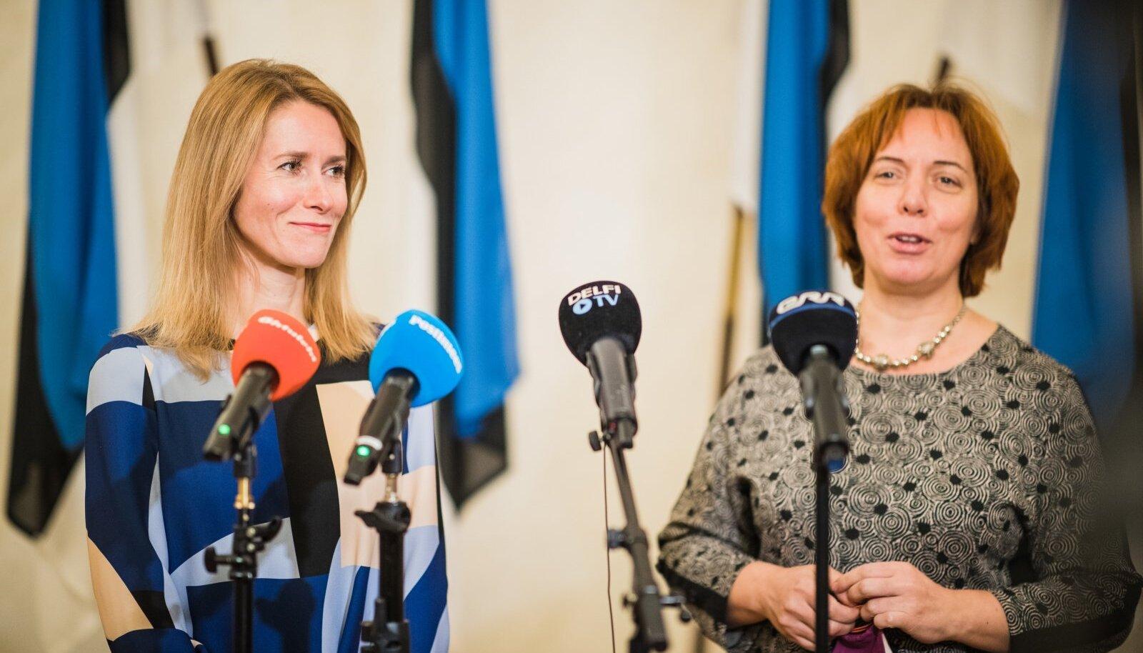 Koalitsioonikõnelused 20.01.2020