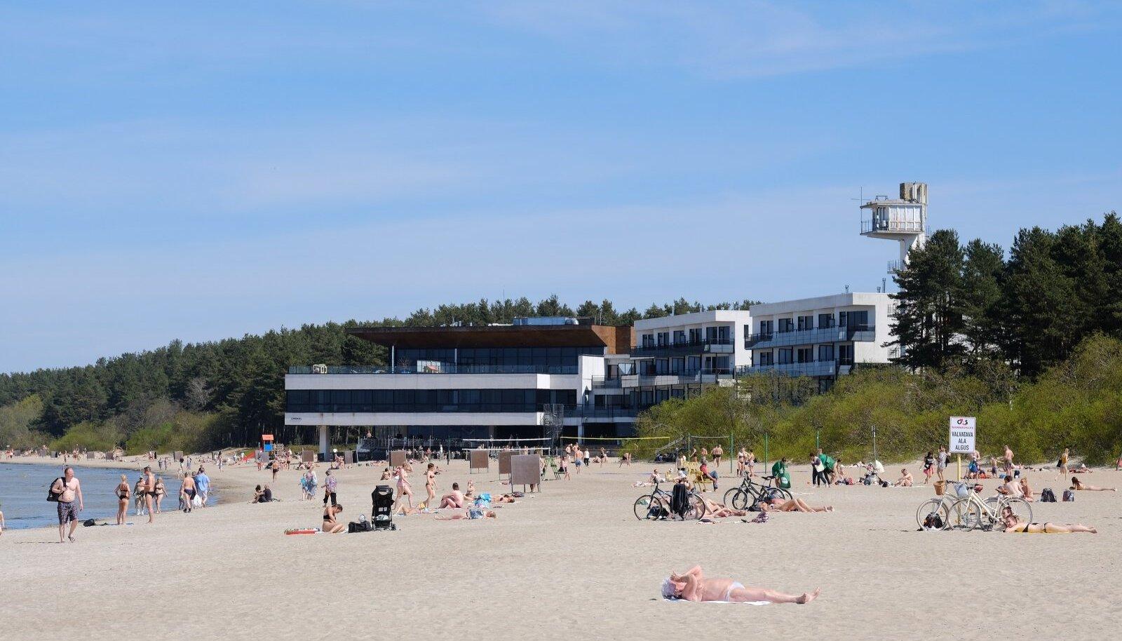 Soe rannailm Tallinnas 2018. aasta maikuus