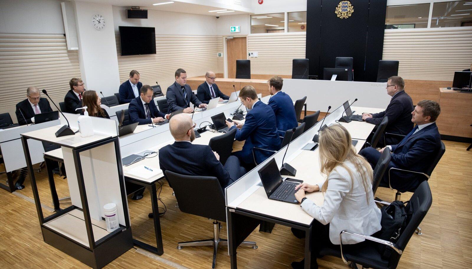 Tallinna Sadama korruptsiooniasja istung