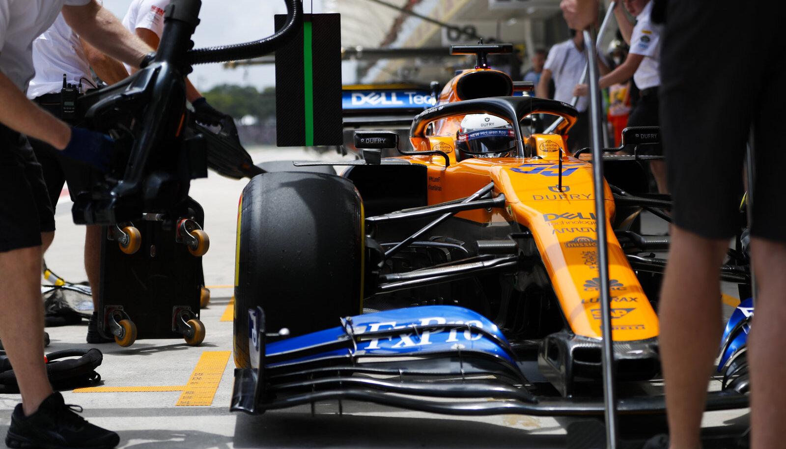 Carlos Sainz jr McLareni roolis