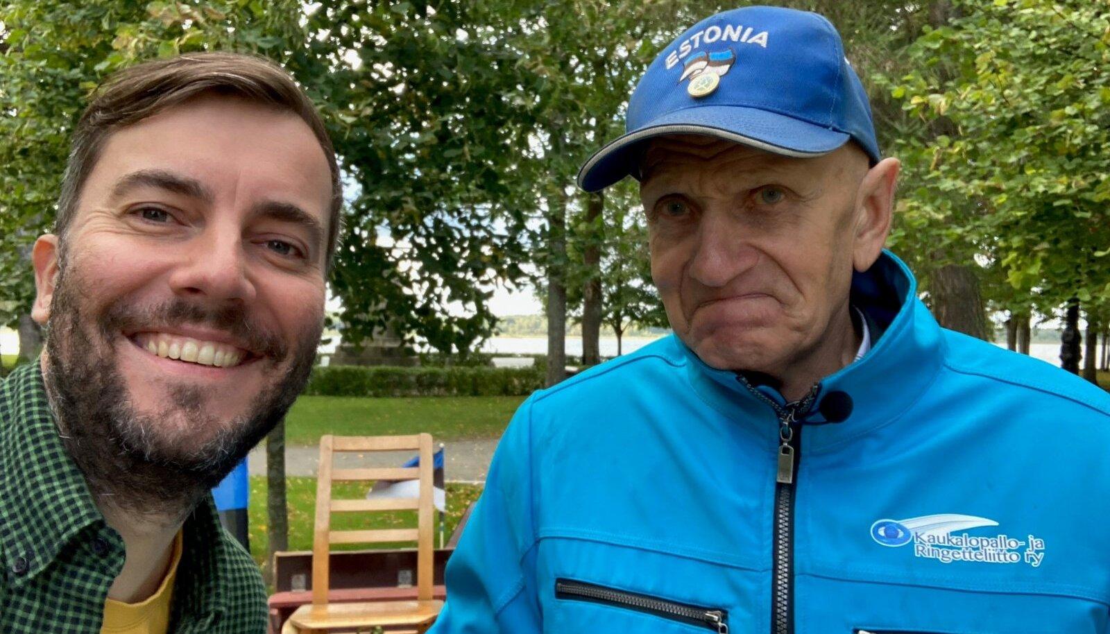 Hooaja avasaates viib Roald Johannson Mõniste küla mehe Toivo Kuslapuu pealinna. Toivo aitas 1979. ja 1980. aastal Moskva olümpiamängude ajaks ehitada üles Tallinna lennujaama. Pärast seda pole ta oma jalga pealinna tõstnud.