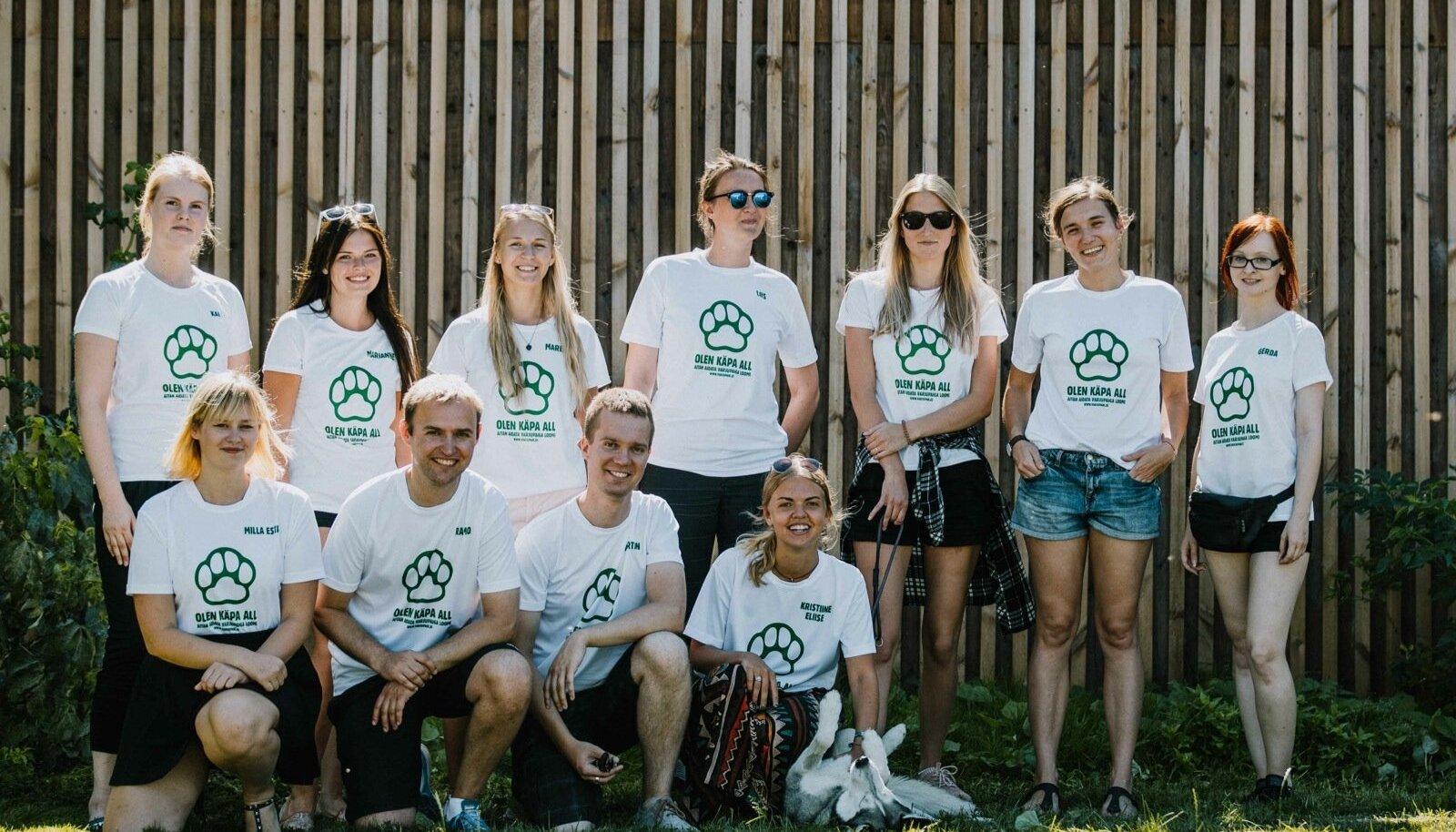 Tallinna loomade varjupaiga vabatahtlikud