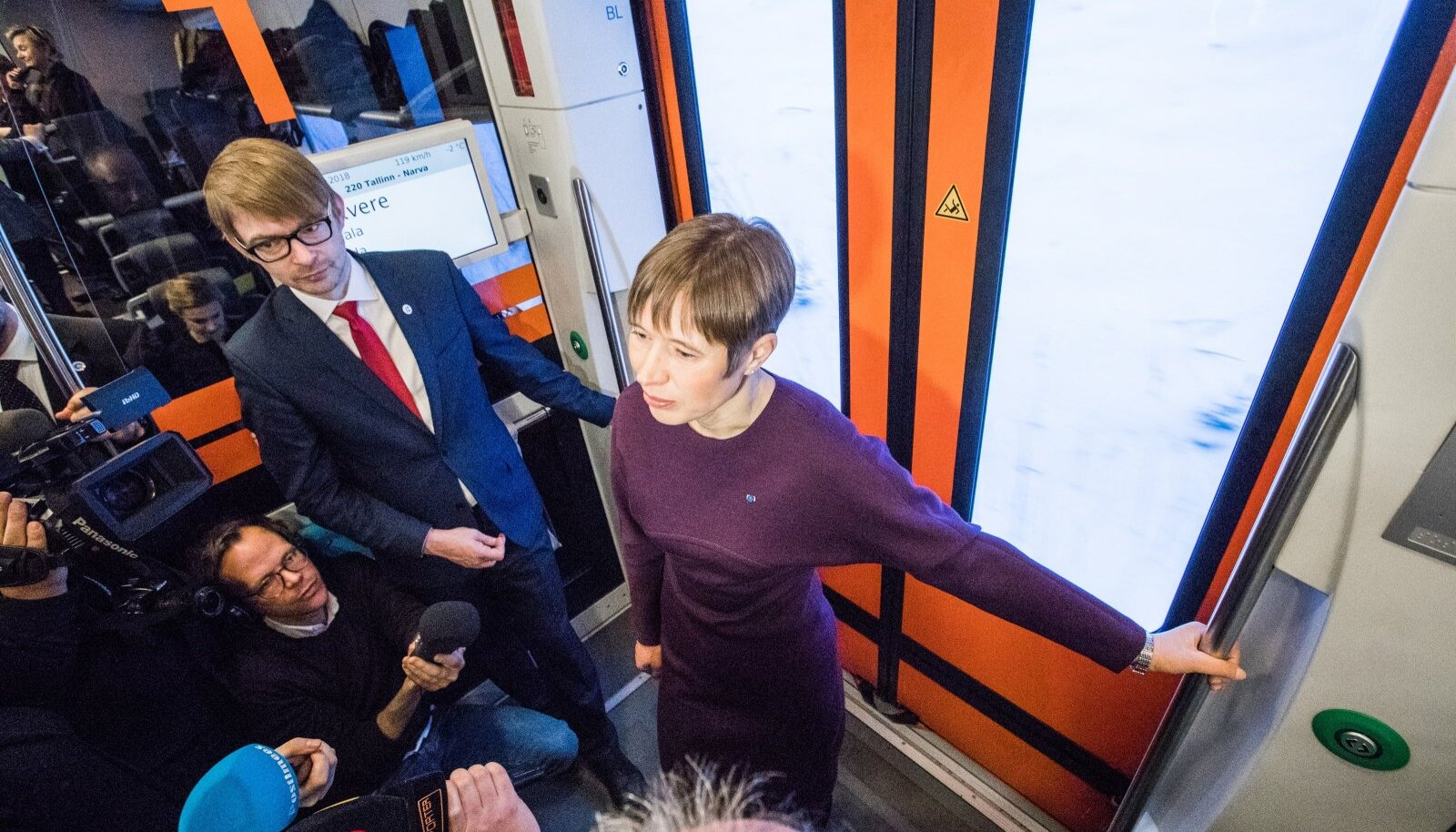 President tegi visiidi Narva