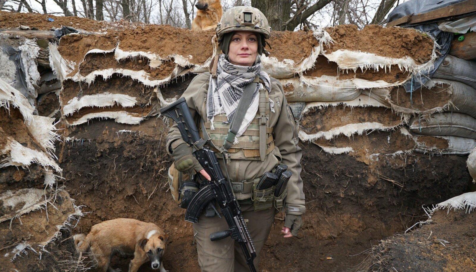 """""""SÕJAPRINTSESS XENA"""": 2014. aastal puhkenud sõjast Ida-Ukrainas võttis osa ka Maria, teise nimega Xena."""
