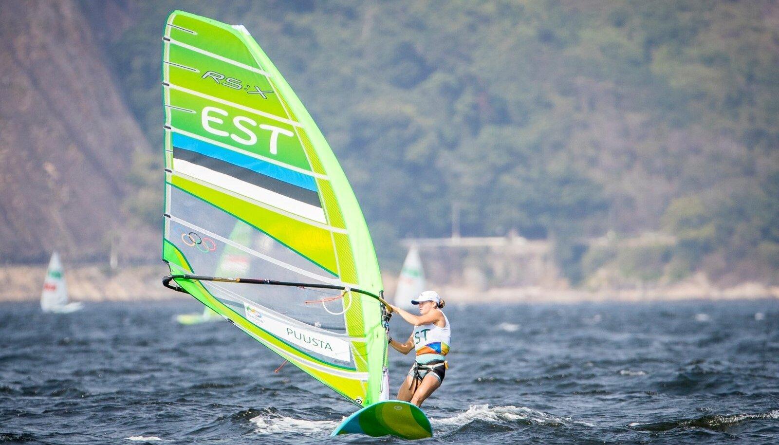Ingrid Puusta 2016 Rio olümpial.