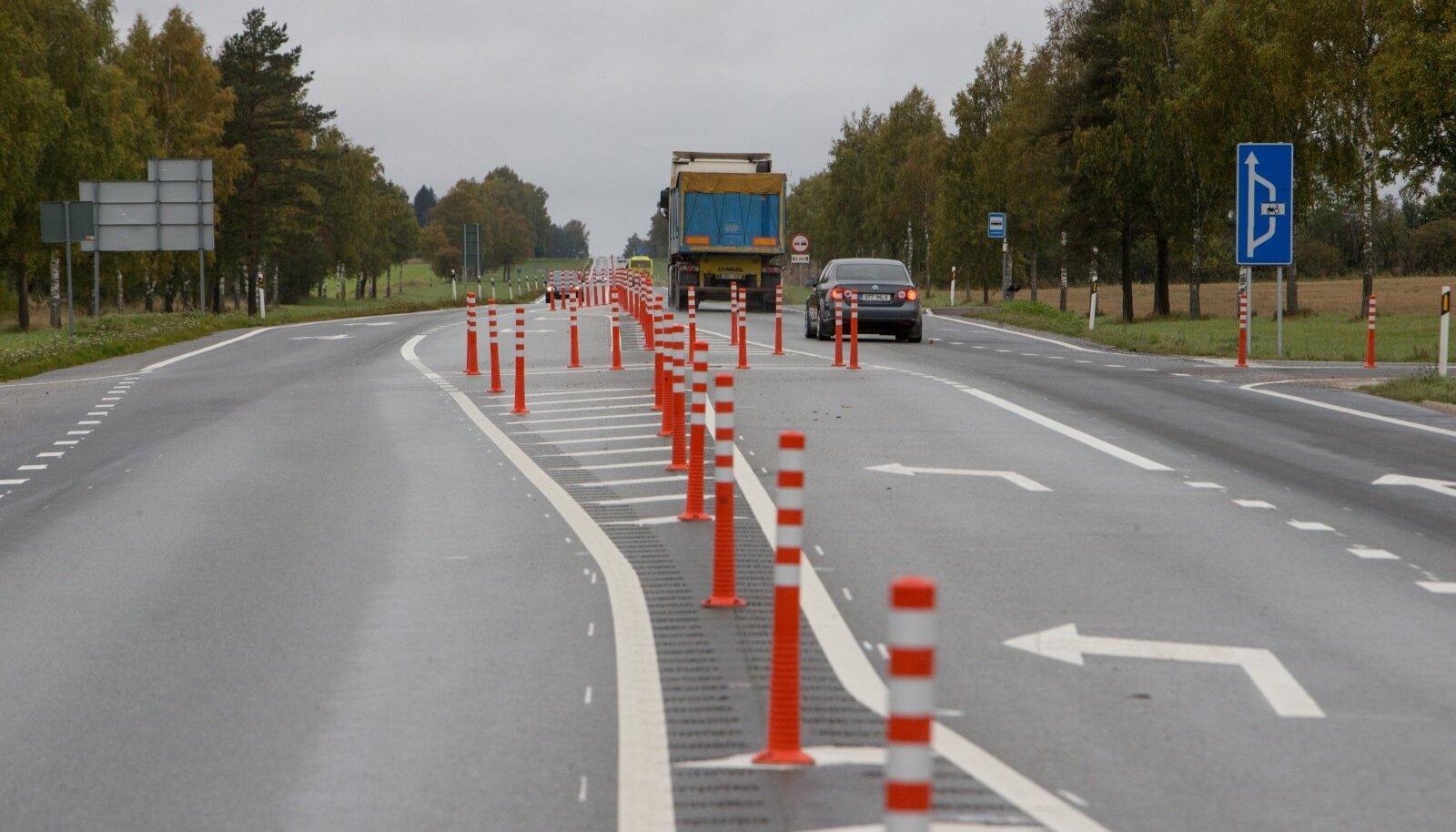 Narva maantee Haljala juures