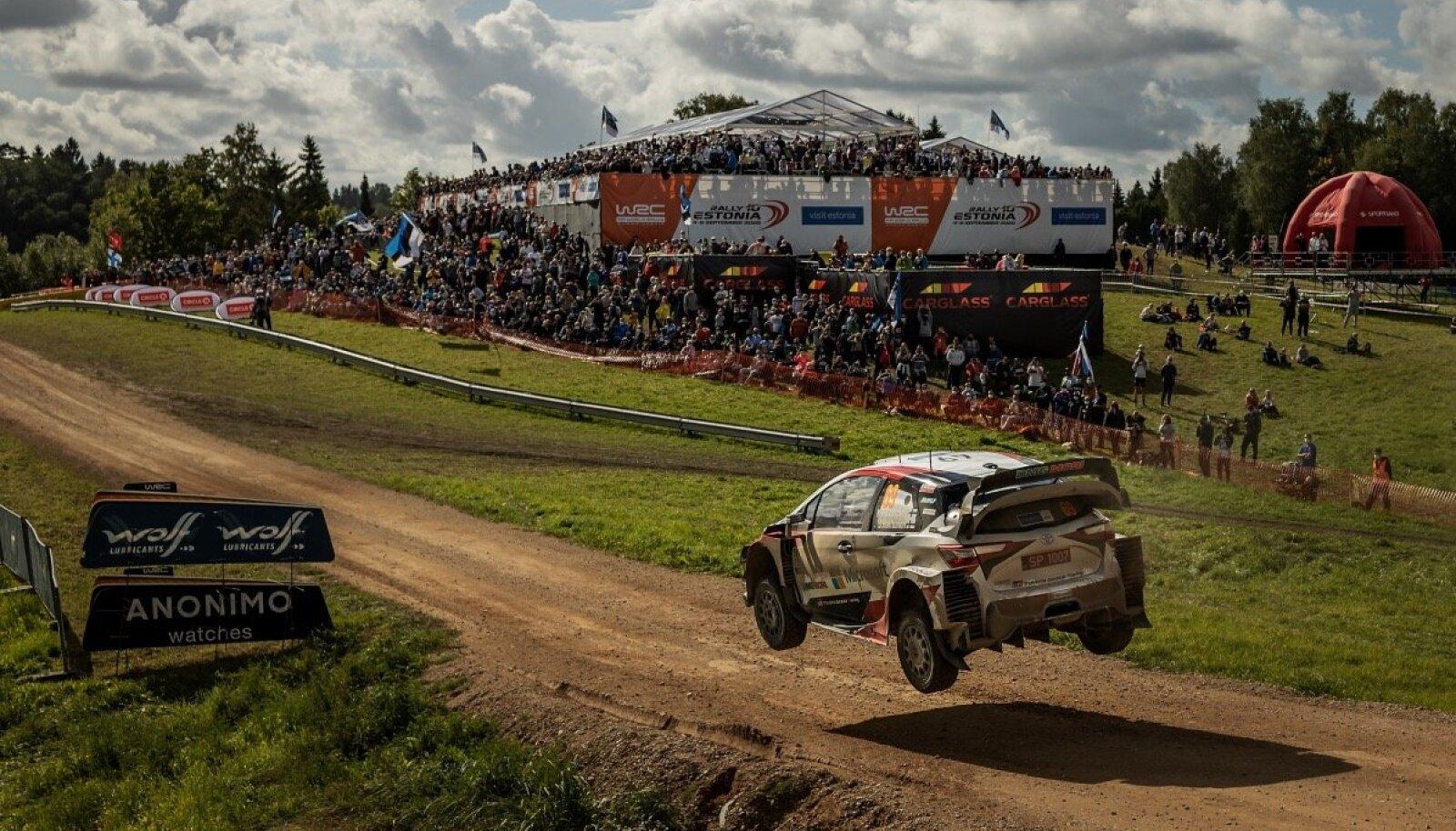 Kalle Rovanperä 2020. aasta Rally Estonial.