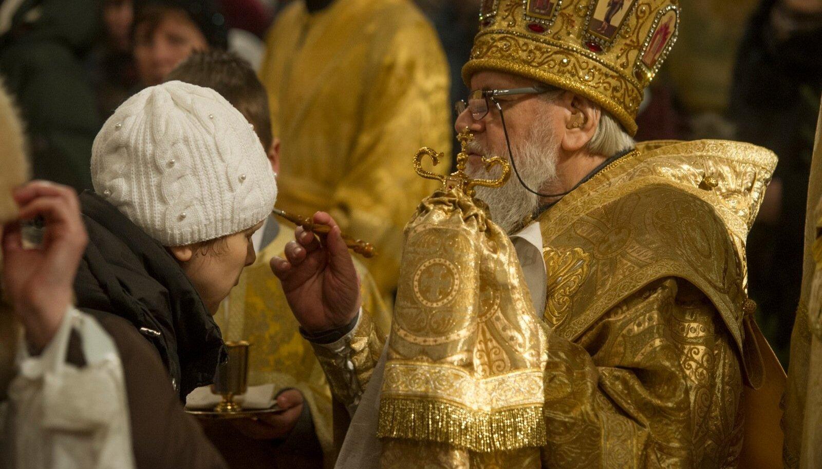 Õigeusu jõulude jumalateenistus