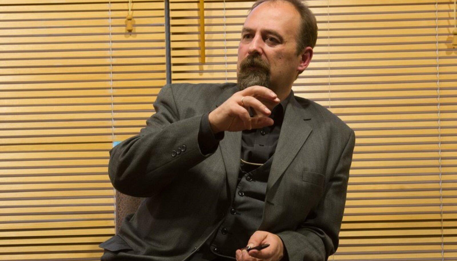 Tartu ülikooli politoloog Karmo Tüür