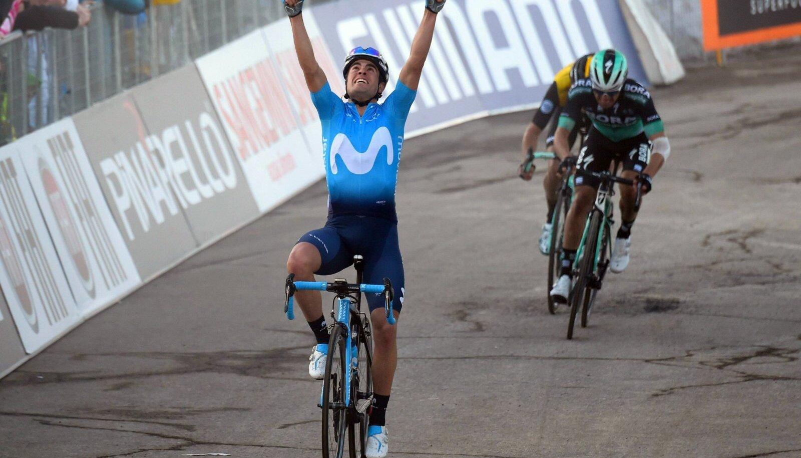 Mikel Landa võitjana finišis.