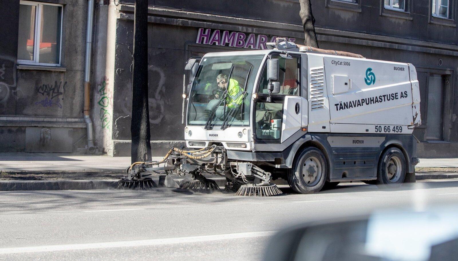 Tolmuse Tallinna puhastamine.